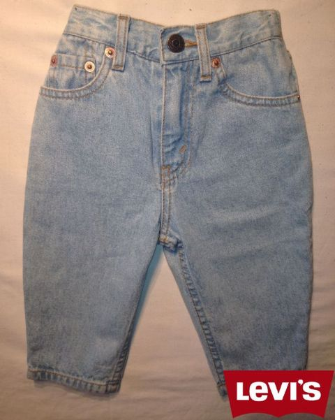 Boys Levis Jeans - Oreg/Light Wash (Not a Boys Suit Or a Girls Dress)